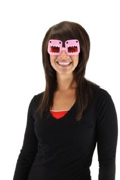 Elope Domo Glasses, Pink, One Size