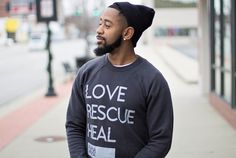 Rapha House - Love Rescue Heal Crewneck