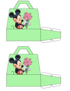 Medium Mickey Mouse Gift Bags Free To Use