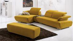 kleine polsterm bel f r kleine r ume sofa rosa von koinor. Black Bedroom Furniture Sets. Home Design Ideas