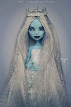 OOAK Monster High Abbey #OOAKbyJuliSidorova #JuliSidorova #OOAKMonsterHigh #MonsterHigh #OOAK #Doll #ООАКМонстерХай #МонстерХай #Эбби #Abbey #OOAKAbbey