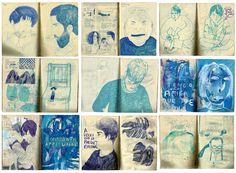 Cuaderno azul, Powerpaola