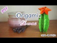 Moi Je Fais » Origami cactus DIY - Les origamis faciles