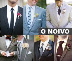 Ai gente! Quanta combinação de terno lapela e gravata incríveis! Não tô sabendo lidar e escolher o meu preferido.