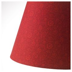 IKEA STRALA Flower RED Lamp shade Red Lamp Shade, Shade Flowers, Shades, Lighting, Home Decor, Products, Interior Lighting, Light Fixtures, Lights