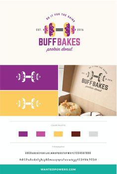 Protein Donut Logo Branding   Doughnut Design   Dumbbell Logo   Graphic Design   Brand Identity