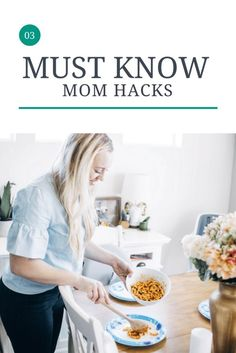 No Dirty Dishes / 3 Must Know Mom Hacks