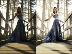 CS5 Photoshop Editing Tutorial: How to brighten severly shadowed and back lit image