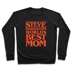 Steve Harrington World's Best Mom Parody White Print - Steve Harrington is a badass Mom! Show off your love for the world's best Stranger Things Mom, Steve with this funny, Stranger Things, World's Best Mom, parody shirt!