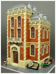 libraries what have we? We have no past and no future. - Lego -Without libraries what have we? We have no past and no future. Lego Modular, Lego Design, Legos, Lego Poster, Lego Boards, Suburban House, Cool Lego Creations, Lego Moc, Lego Lego