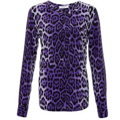 Equipment Liam Leopard Print Washed Silk Top (6.585 RUB) ❤ liked on Polyvore featuring tops, purple, silk top, equipment tops, purple top, leopard print top and purple silk top