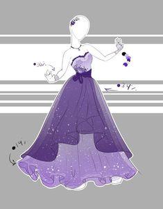 Purple sweet heart top dress