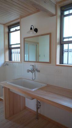 土 « 村上建築工房 Corner Bathtub, Bathroom, Wall, Washroom, Full Bath, Walls, Bath, Bathrooms, Corner Tub