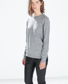 ZARA - WOMAN - SWEATER WITH JEWEL BUTTONS ON BACK