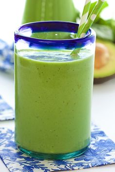 Pineapple Banana Green Smoothie