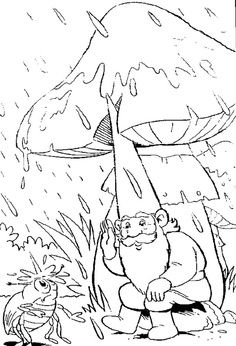 coloring page David the Gnome on Kids-n-Fun. Coloring pages of David the Gnome on Kids-n-Fun. More than coloring pages. At Kids-n-Fun you will always find the nicest coloring pages first! Pattern Coloring Pages, Cool Coloring Pages, Adult Coloring Pages, Coloring Sheets, Coloring Books, Fairy Coloring, Kids Coloring, David Le Gnome, Clip Art Library