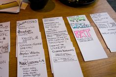 Task Index Cards Revisited – Dave Seah Planner Organization, Organizing, Index Cards, Note Taking, Notes, Scrapbook, Study Hard, Personalized Items, Learning