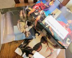 recycling fashion magazines