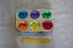 infant sensory play - whipped cream finger paint. Can't wait to try this with Suli!