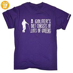 Out Of Bounds Herren T-Shirt, Slogan Violett Violett - Shirts mit spruch (*Partner-Link)