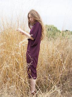Vestido neopreno burdeos. http://www.lapipadelapaz.es