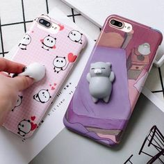Squishy Pet Stress Relief Case For iPhone 6 and 6s Plus