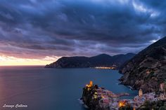 Vernazza after sunset by Lorenzo Callerio on 500px