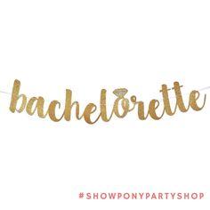 Spoil your favorite bachelorette with this gold glitter diamond ring banner! Shop link in bio. . . . #ShowPonyPartyShop #glitterbanner #partydecor #partyplanner #bachelorette #bacheloretteparty #etsy #etsyweddings #etsyseller #etsyshop #shopbando #partystyling #jacksonville #partysupplies #glitter #gold #halloweenparty #etsyparty #girlsnightout #partytime #diydecor #diywedding #weddingplanning #weddingprep #etsyfinds #etsyhandmade