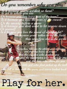 softball pictures and quotes | Live Laugh Softball