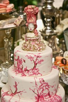 WoW!  Lots and lots of really pretty cakes
