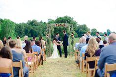 Outdoor Farm Wedding - Rustic Wedding Chic