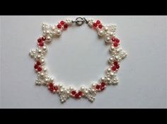 How to make an elegant necklace. Beading tutorial. - YouTube