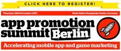 #App promotion summit #Berlin