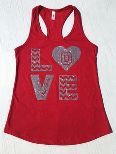 A personal favorite from my Etsy shop https://www.etsy.com/listing/465286393/ohio-state-tank-top-womens-tank-love