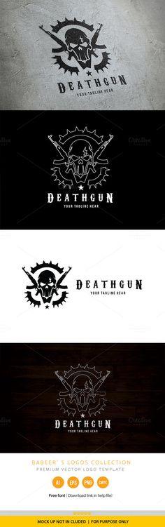 Death Gun Logo @creativework247