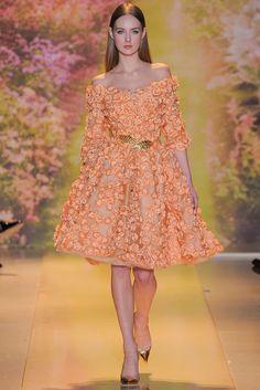 "lamorchemoveilsoleelaltrestelle: ""Zuhair Murad, Spring 2014 Couture """