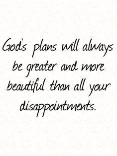 His plan.