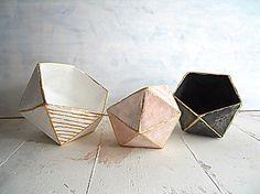 geometric bowls origami bowls