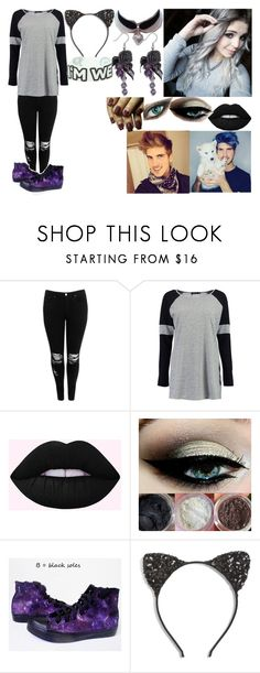 """""""Angie Graceffa // Joey's Sister"""" by the-happy-emo ❤ liked on Polyvore featuring Boohoo and Cara"""