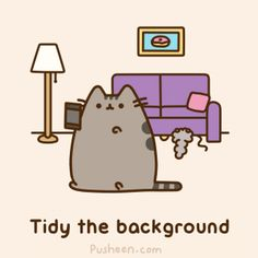 Where does Pusheen live?