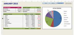 basic budgeting spreadsheet