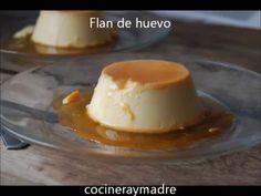 flan de huevo casero - YouTube