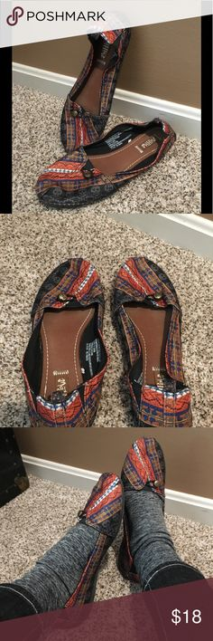 Bohemian quilted flats with fab detail! Really great looking bohemian flats that are super comfortable and ready for the next concert! MadLove Shoes Moccasins