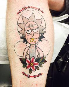 30 Tatuagens de Rick e Morty para levar o fenômeno para a sua pele - Tinta na Pele | Tatuagem