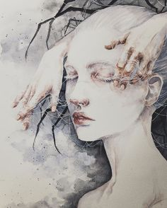 I Paint Ethereal Watercolor Portraits My name is Phuong Nguyen (aka Jacquell), I'm Vietnamese-born artist who recently rediscovered my passion for arts 2 years ago and have been a self-taught artist ever since.   In the world Icreate, the main character is women, as a representative for the sub
