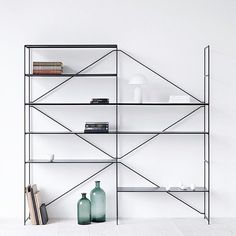 Simple R.I.G Modular Shelving via mydesignlove- minimal, shelf, design