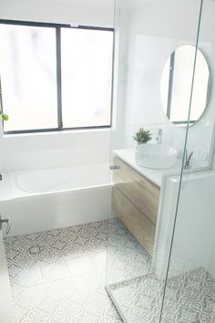 Grey Bathrooms, Bathroom Renos, Bathroom Design Inspiration, Design Ideas, Bathroom Renovations Perth, Bathtub, Laundry, Standing Bath, Laundry Room