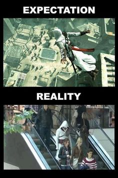 Why preform a leap of faith when you can just take the escalator?