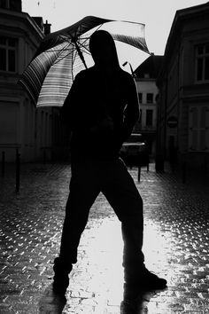 Umbrella gangsta - Photo