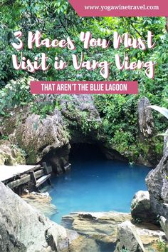 Lao's Travel Guide: 5 places to visit in Vang Vieng that are not the Blue Lagoon - Hot Girls Luang Prabang, Laos Travel, Asia Travel, Travel Tips, Taiwan Travel, Wanderlust Travel, Travel Guides, Travel Destinations, Vietnam